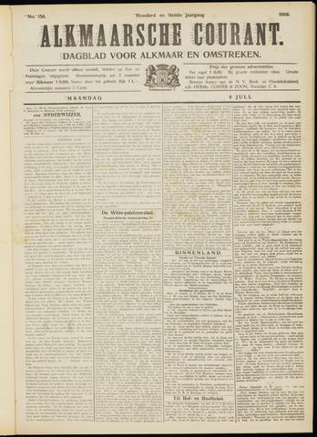 Alkmaarsche Courant 1908-07-06