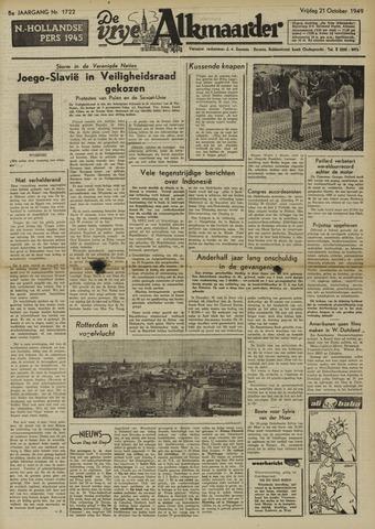 De Vrije Alkmaarder 1949-10-21