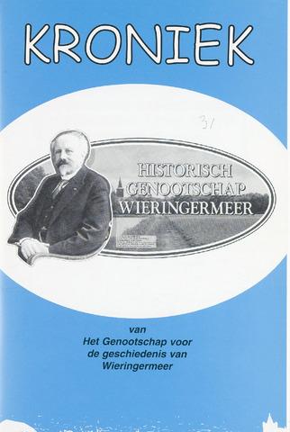 Kroniek Historisch Genootschap Wieringermeer 2002