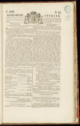 Alkmaarsche Courant 1847-09-13