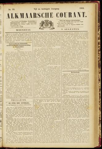 Alkmaarsche Courant 1883-08-08