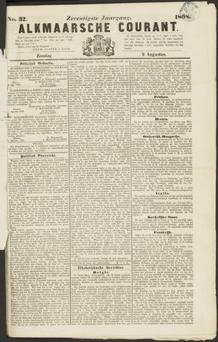 Alkmaarsche Courant 1868-08-09