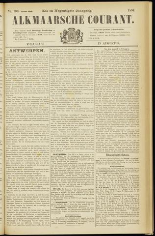 Alkmaarsche Courant 1894-08-19