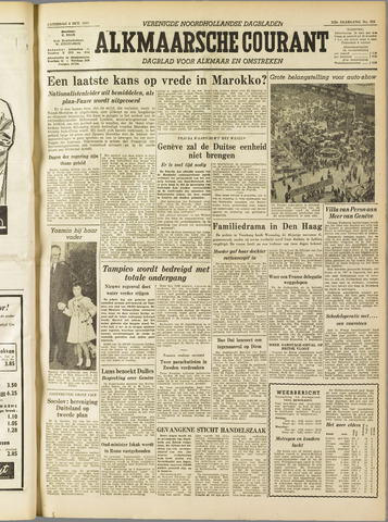 Alkmaarsche Courant 1955-10-08