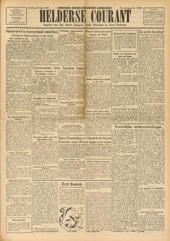 Heldersche Courant 1949-04-30