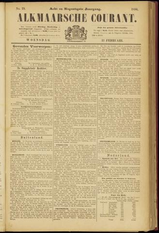 Alkmaarsche Courant 1896-02-12