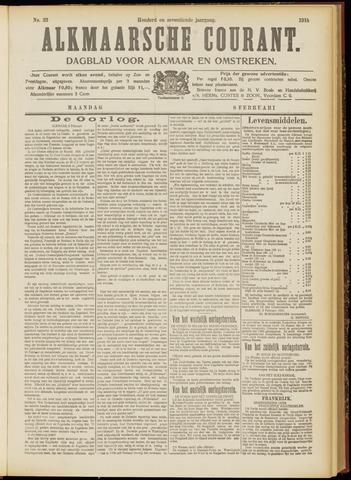 Alkmaarsche Courant 1915-02-08