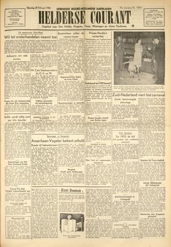 Heldersche Courant 1950-02-20