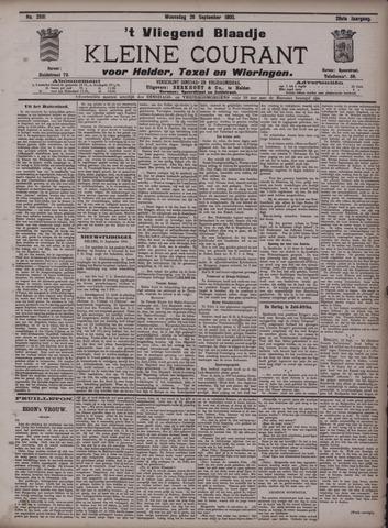 Vliegend blaadje : nieuws- en advertentiebode voor Den Helder 1900-09-26