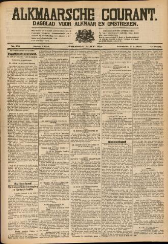Alkmaarsche Courant 1930-06-11