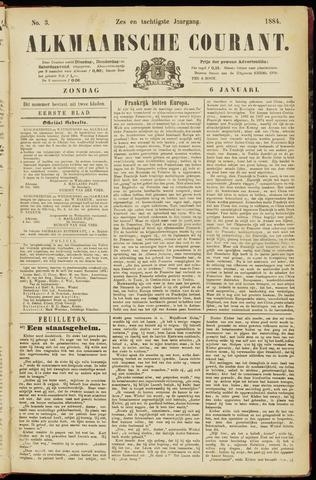 Alkmaarsche Courant 1884-01-06