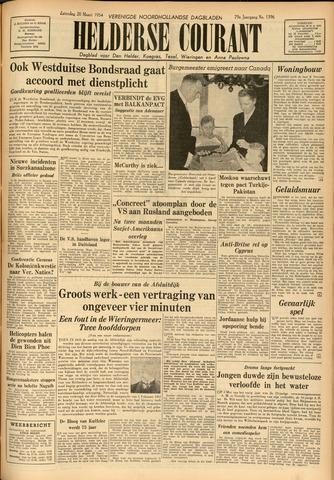 Heldersche Courant 1954-03-20