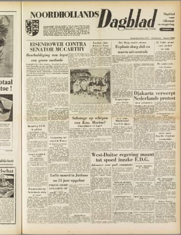 Noordhollands Dagblad : dagblad voor Alkmaar en omgeving 1954-03-04