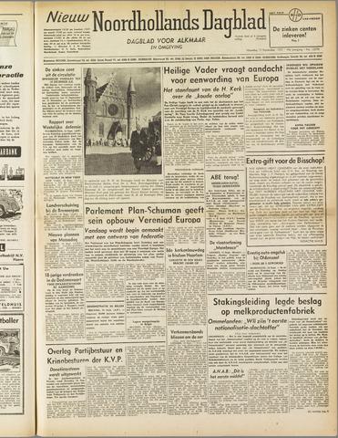 Nieuw Noordhollandsch Dagblad : voor Alkmaar en omgeving 1952-09-15