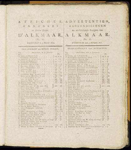 Alkmaarsche Courant 1812-02-05