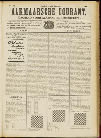 Alkmaarsche Courant 1909-09-03