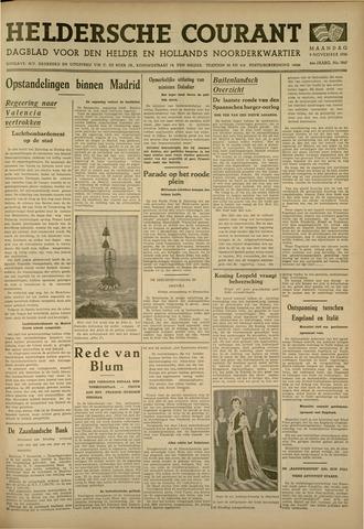 Heldersche Courant 1936-11-09