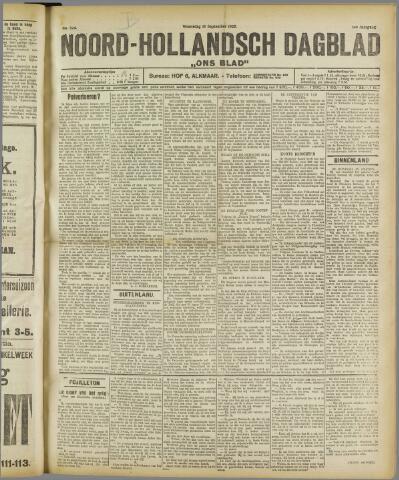 Ons Blad : katholiek nieuwsblad voor N-H 1922-09-13