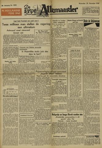 De Vrije Alkmaarder 1947-11-26