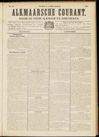 Alkmaarsche Courant 1910-09-12
