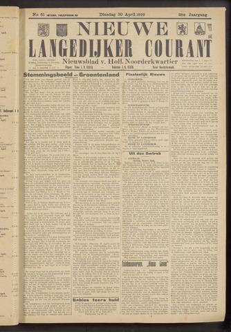 Nieuwe Langedijker Courant 1929-04-30