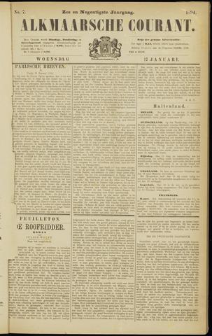 Alkmaarsche Courant 1894-01-17
