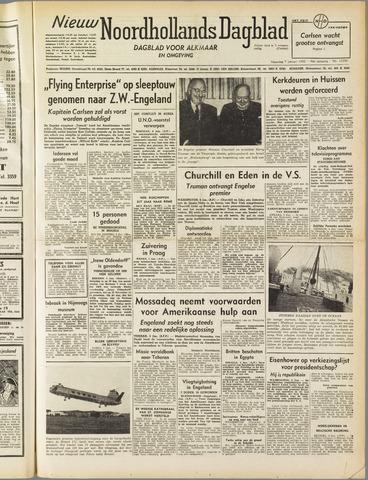 Nieuw Noordhollandsch Dagblad : voor Alkmaar en omgeving 1952-01-07