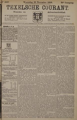Texelsche Courant 1916-11-22