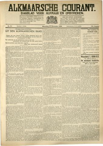 Alkmaarsche Courant 1933-11-20