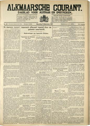 Alkmaarsche Courant 1937-09-06