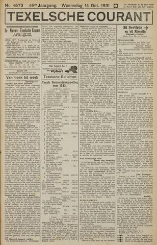 Texelsche Courant 1931-10-14