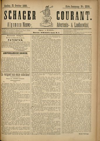 Schager Courant 1888-10-21