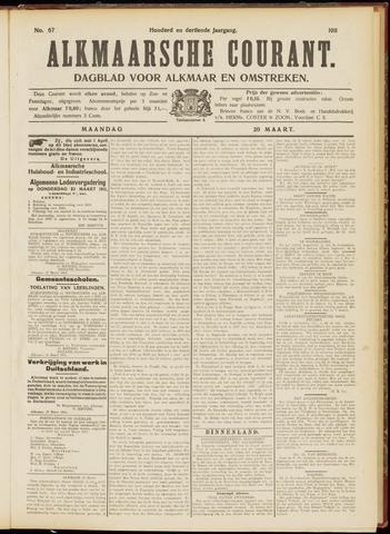 Alkmaarsche Courant 1911-03-20