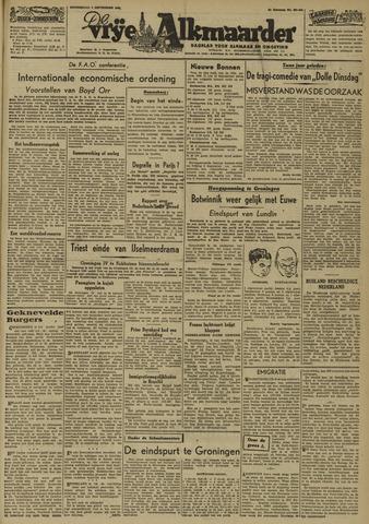 De Vrije Alkmaarder 1946-09-05