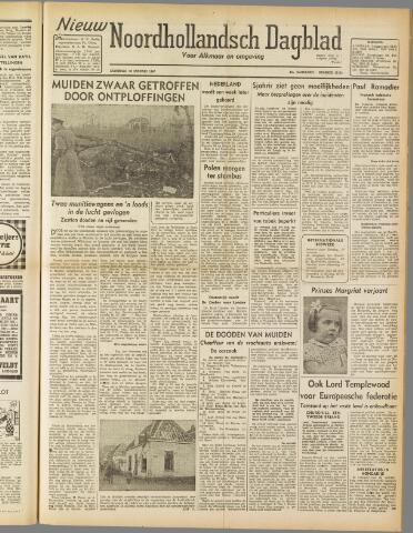 Nieuw Noordhollandsch Dagblad : voor Alkmaar en omgeving 1947-01-18