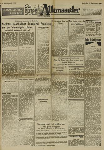 De Vrije Alkmaarder 1947-12-13