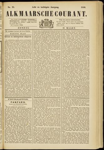 Alkmaarsche Courant 1886-03-21