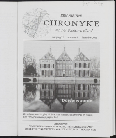 Een Nieuwe Chronyke van het Schermereiland 2005-12-01
