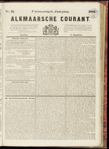 Alkmaarsche Courant 1862-08-03