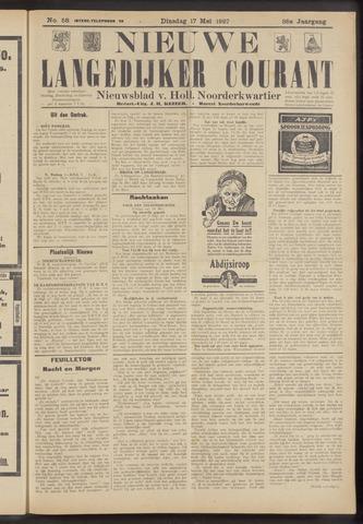 Nieuwe Langedijker Courant 1927-05-17