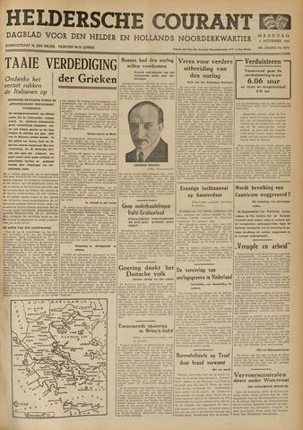 Heldersche Courant 1940-11-04