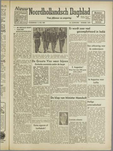 Nieuw Noordhollandsch Dagblad : voor Alkmaar en omgeving 1946-07-11
