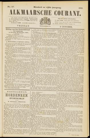 Alkmaarsche Courant 1903-10-02
