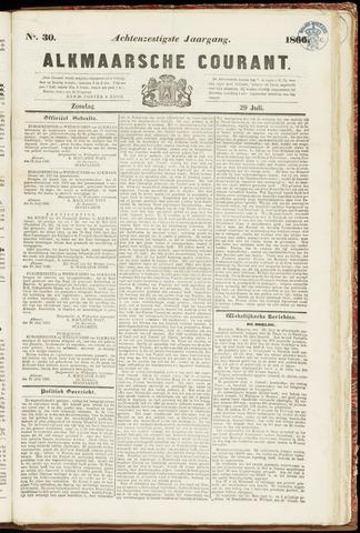 Alkmaarsche Courant 1866-07-29