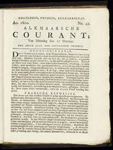 Alkmaarsche Courant 1800-10-27