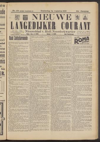 Nieuwe Langedijker Courant 1929-08-29