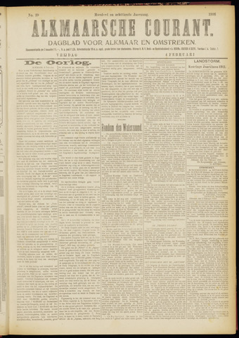 Alkmaarsche Courant 1916-02-04