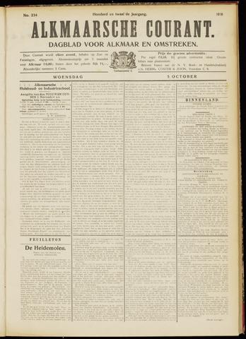 Alkmaarsche Courant 1910-10-05