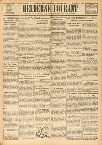 Heldersche Courant 1949-04-19
