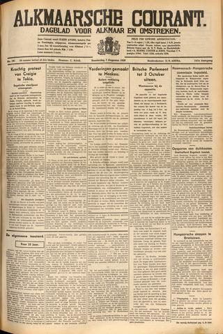 Alkmaarsche Courant 1939-08-03